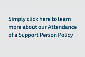 mlcoa Attendance of a Support Person Policy