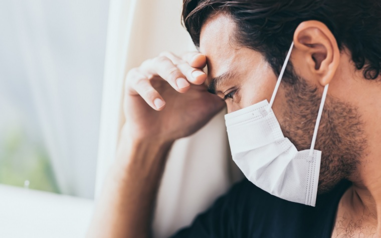 Mental health of Australian people in the first month of COVID-19 restrictions